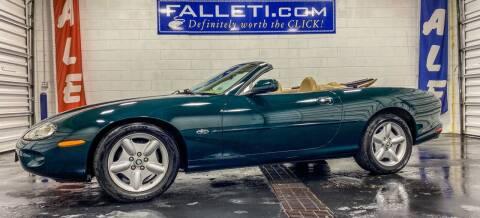 1997 Jaguar XK-Series for sale at Falleti Motors, Inc.  est. 1976 in Batavia NY