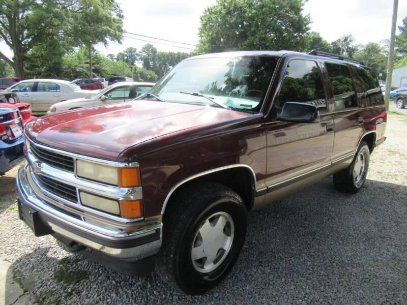 1999 Chevrolet Tahoe for sale at Dallas Auto Mart in Dallas GA