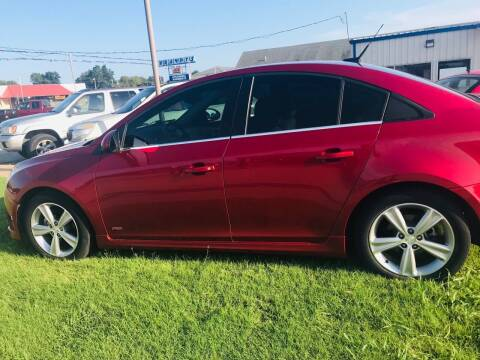 2014 Chevrolet Cruze for sale at Pioneer Auto in Ponca City OK