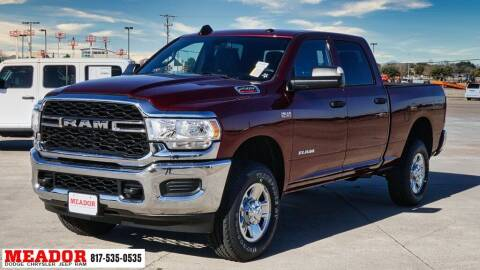 2021 RAM Ram Pickup 2500 for sale at Meador Dodge Chrysler Jeep RAM in Fort Worth TX