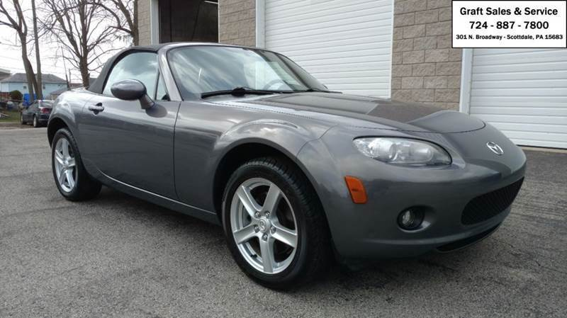 2007 Mazda MX-5 Miata for sale at Graft Sales and Service Inc in Scottdale PA