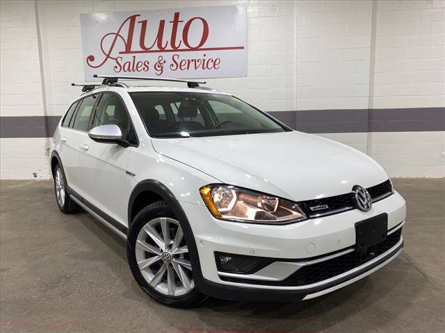 2017 Volkswagen Golf Alltrack for sale at Auto Sales & Service Wholesale in Indianapolis IN
