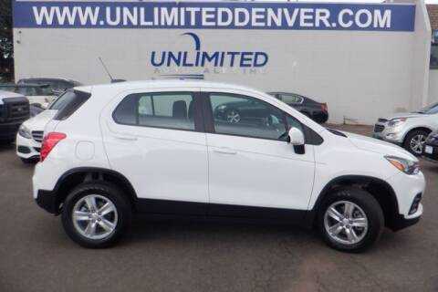 2018 Chevrolet Trax for sale at Unlimited Auto Sales in Denver CO