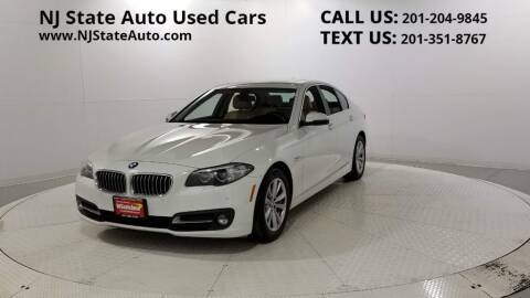 2016 BMW 5 Series for sale at NJ State Auto Auction in Jersey City NJ