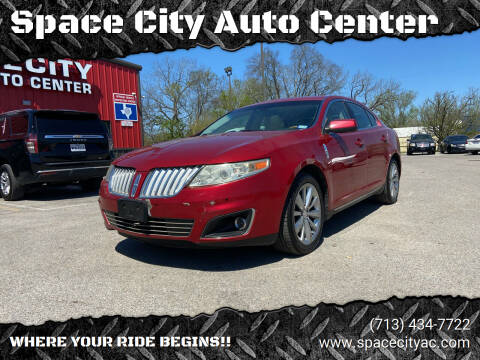 2012 Lincoln MKS for sale at Space City Auto Center in Houston TX