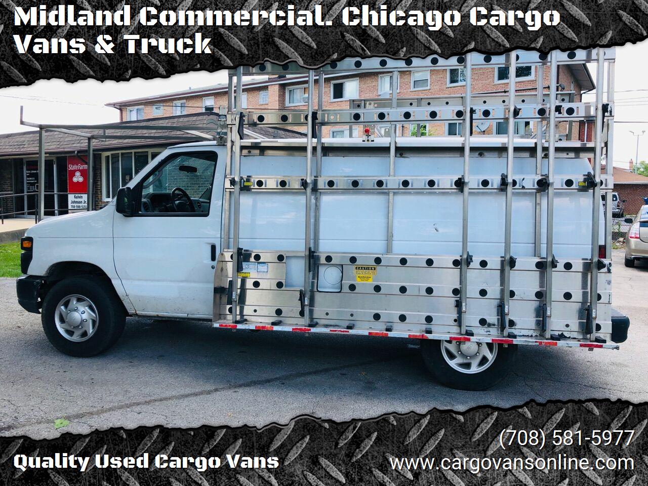 White 2011 FORD E-SERIES CARGO for sale in Bridgeview, IL