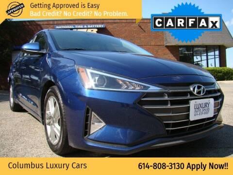 2019 Hyundai Elantra for sale at Columbus Luxury Cars in Columbus OH