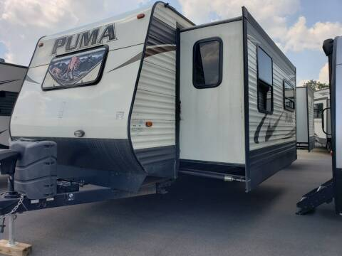 2016 Forest River puma 30FKSS