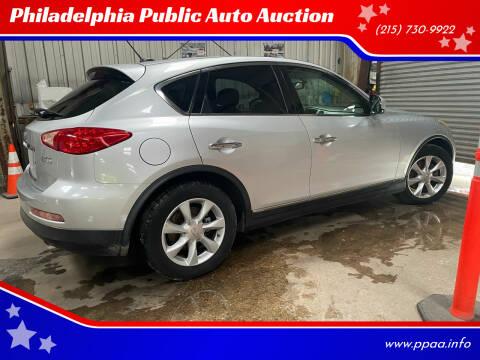 2010 Infiniti EX35 for sale at Philadelphia Public Auto Auction in Philadelphia PA