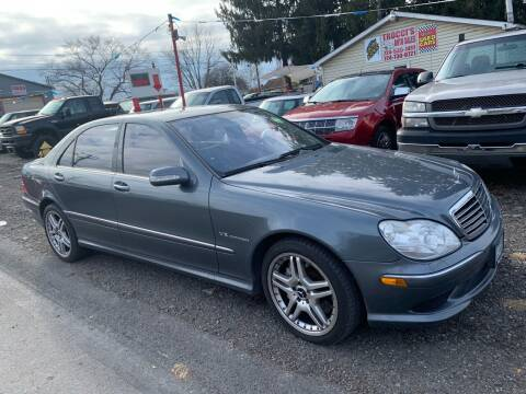2006 Mercedes-Benz S-Class for sale at Trocci's Auto Sales in West Pittsburg PA