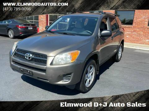 2010 Toyota RAV4 for sale at Elmwood D+J Auto Sales in Agawam MA