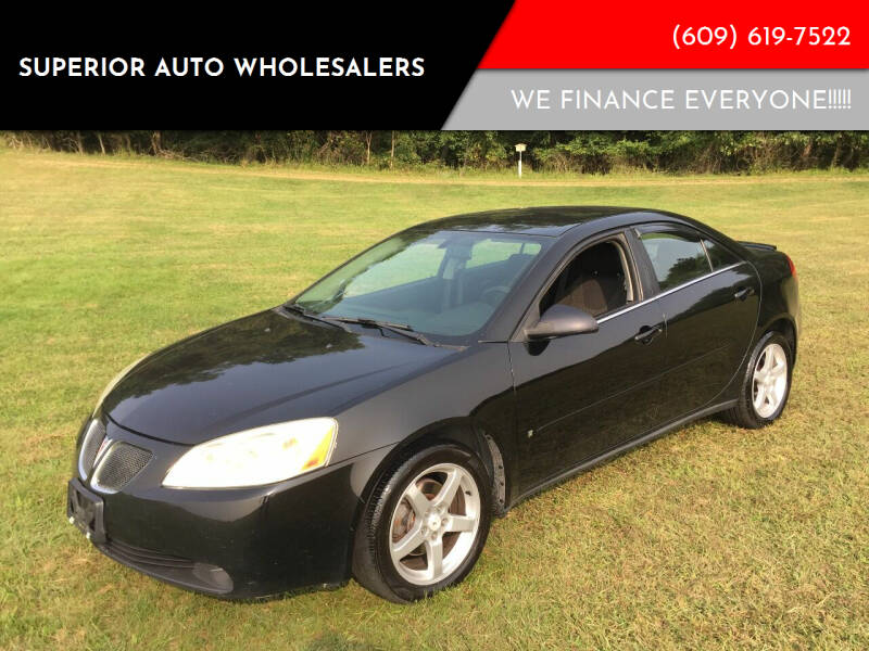 2007 Pontiac G6 for sale at Superior Auto Wholesalers in Burlington City NJ
