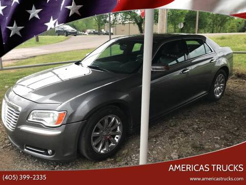 2012 Chrysler 300 for sale at Americas Trucks in Jones OK