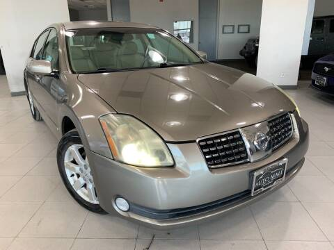 2004 Nissan Maxima for sale at Auto Mall of Springfield in Springfield IL