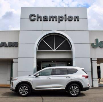 2020 Hyundai Santa Fe for sale at Champion Chevrolet in Athens AL