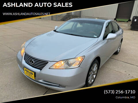 2007 Lexus ES 350 for sale at ASHLAND AUTO SALES in Columbia MO