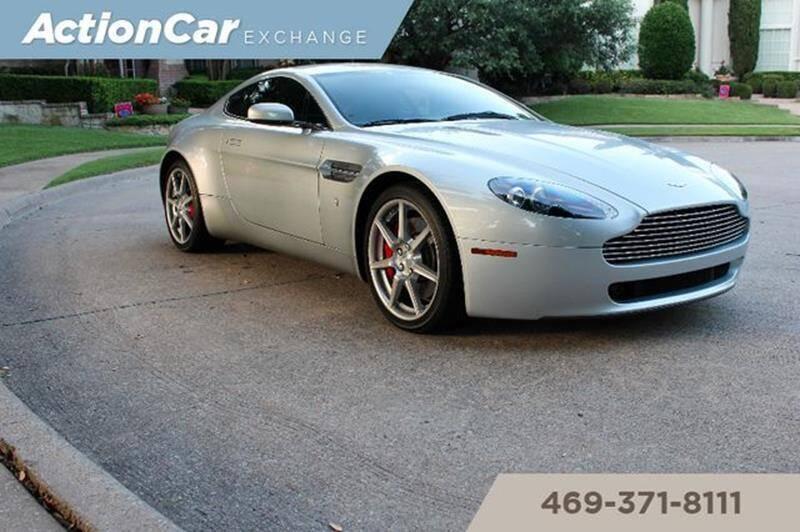 Used Aston Martin V8 Vantage For Sale In Dallas Tx Carsforsale Com