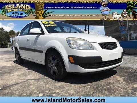 2008 Kia Rio for sale at Island Motor Sales Inc. in Merritt Island FL
