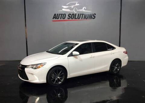 2017 Toyota Camry for sale at Noel Daniels Motor Company in Brandon MS