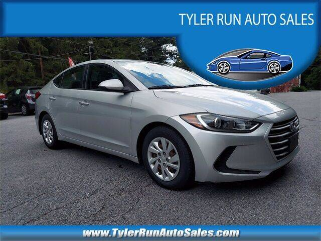 2017 Hyundai Elantra for sale at Tyler Run Auto Sales in York PA