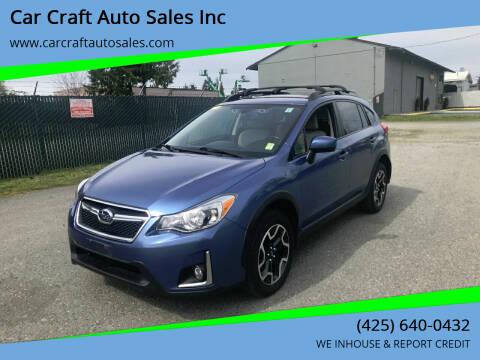 2016 Subaru Crosstrek for sale at Car Craft Auto Sales Inc in Lynnwood WA