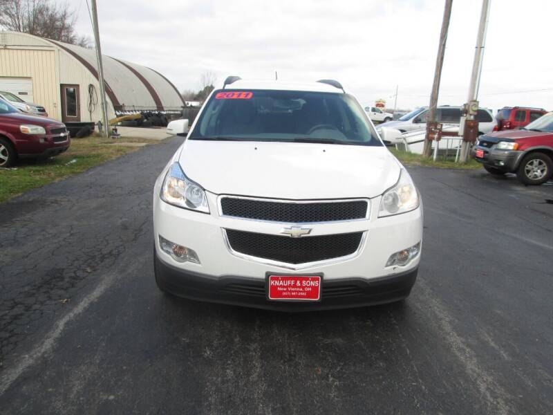 2011 Chevrolet Traverse for sale at Knauff & Sons Motor Sales in New Vienna OH