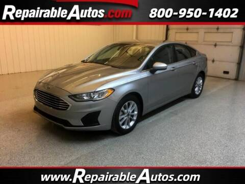 2020 Ford Fusion for sale at Ken's Auto in Strasburg ND
