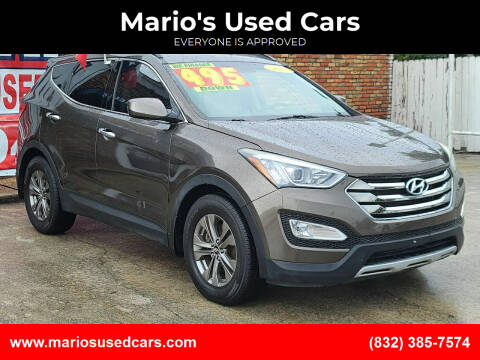 2013 Hyundai Santa Fe Sport for sale at Mario's Used Cars - South Houston Location in South Houston TX