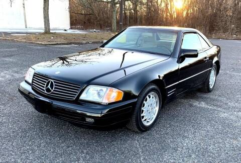 1996 Mercedes-Benz SL-Class for sale at Black Tie Classics in Stratford NJ