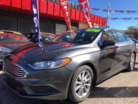 2017 Ford Fusion for sale at Duke City Auto LLC in Gallup NM