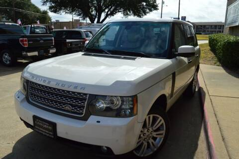 2010 Land Rover Range Rover for sale at E-Auto Groups in Dallas TX