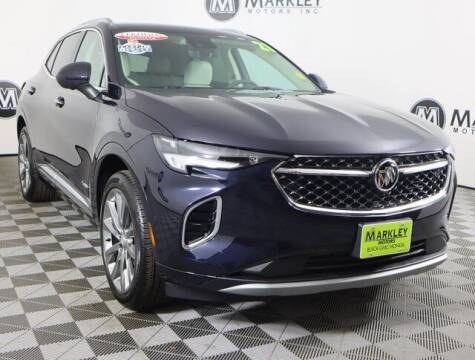 2021 Buick Envision for sale at Markley Motors in Fort Collins CO
