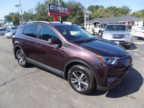 2018 Toyota RAV4 for sale at Comet Auto Sales in Manchester NH