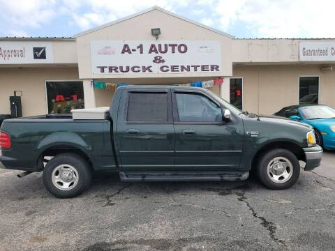 2001 Ford F-150 for sale at A-1 AUTO AND TRUCK CENTER in Memphis TN