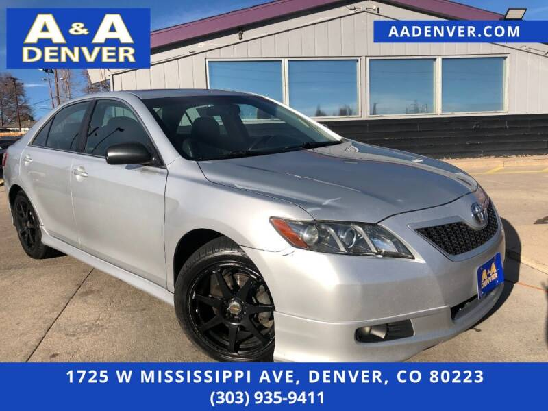 2007 Toyota Camry for sale at A & A AUTO LLC in Denver CO