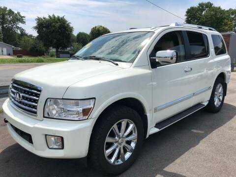 2010 Infiniti QX56 for sale at Wise Investments Auto Sales in Sellersburg IN