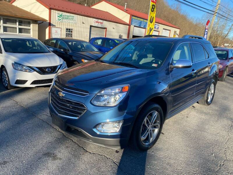 2017 Chevrolet Equinox for sale at THE AUTOMOTIVE CONNECTION in Atkins VA
