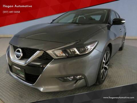2017 Nissan Maxima for sale at Hagan Automotive in Chatham IL
