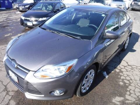 2012 Ford Focus for sale at J & K Auto - J and K in Saint Bonifacius MN