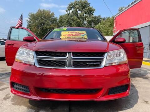 2011 Dodge Avenger for sale at Carmen's Auto Sales in Hazel Park MI