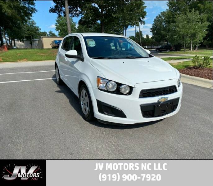 2013 Chevrolet Sonic for sale at JV Motors NC LLC in Raleigh NC