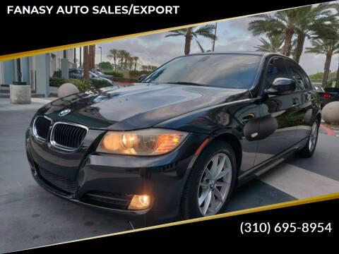 2010 BMW 3 Series for sale at FANASY AUTO SALES/EXPORT in Yorba Linda CA