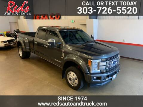 2017 Ford F-450 Super Duty for sale at Red's Auto and Truck in Longmont CO