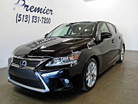 2015 Lexus CT 200h for sale at Premier Automotive Group in Milford OH