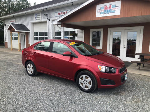 2013 Chevrolet Sonic for sale at M&A Auto in Newport VT