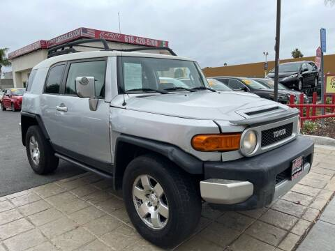 2007 Toyota FJ Cruiser for sale at CARCO SALES & FINANCE in Chula Vista CA