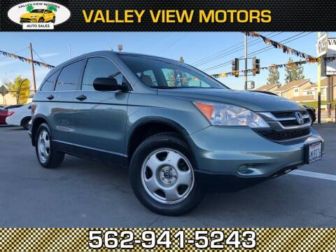 2010 Honda CR-V for sale at Valley View Motors in Whittier CA
