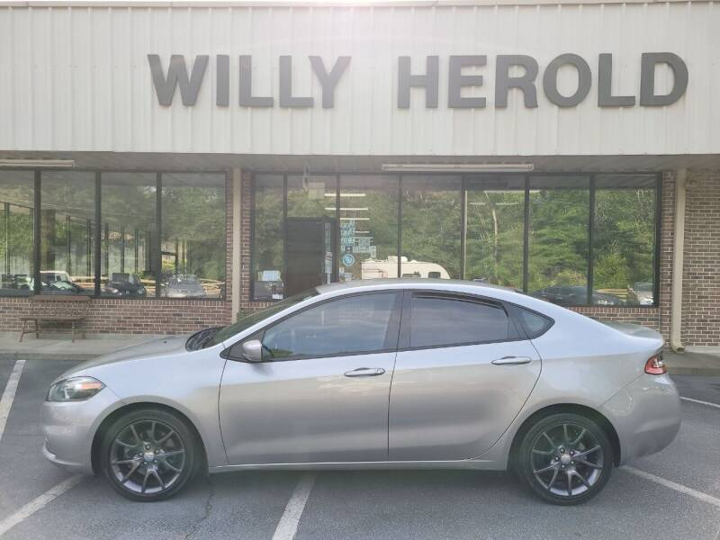 2016 Dodge Dart for sale at Willy Herold Automotive in Columbus GA
