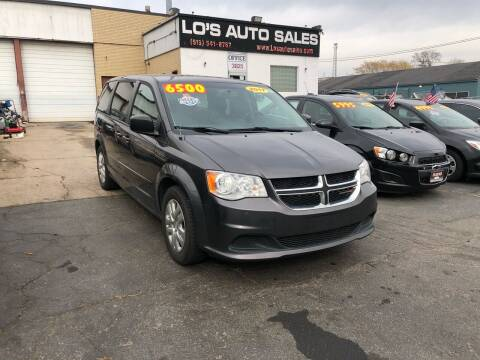 2017 Dodge Grand Caravan for sale at Lo's Auto Sales in Cincinnati OH