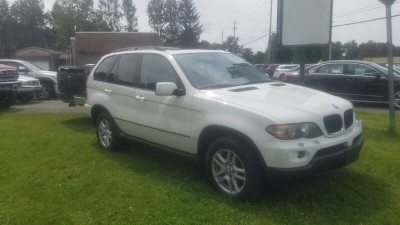 2005 BMW X5 for sale at JERRY SIMON AUTO SALES in Cambridge NY